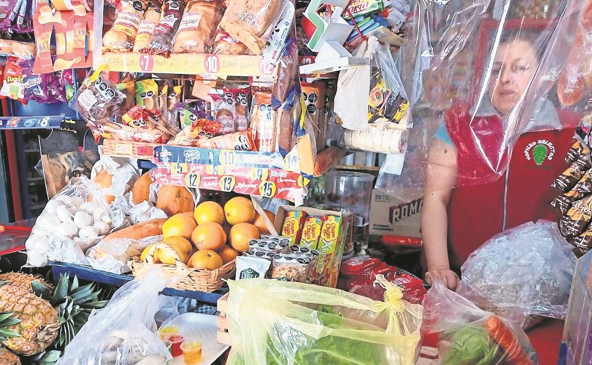 Tienditas del Edomex reportan ventas bajas debido al incremento de la canasta básica