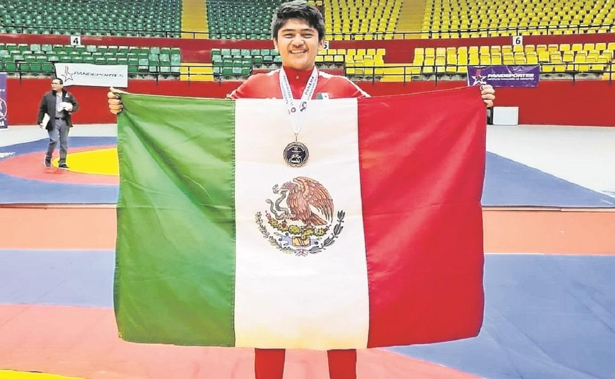 De cara a los Juegos Panamericanos de Cali, Alan Pérez aprieta su preparación en luchas