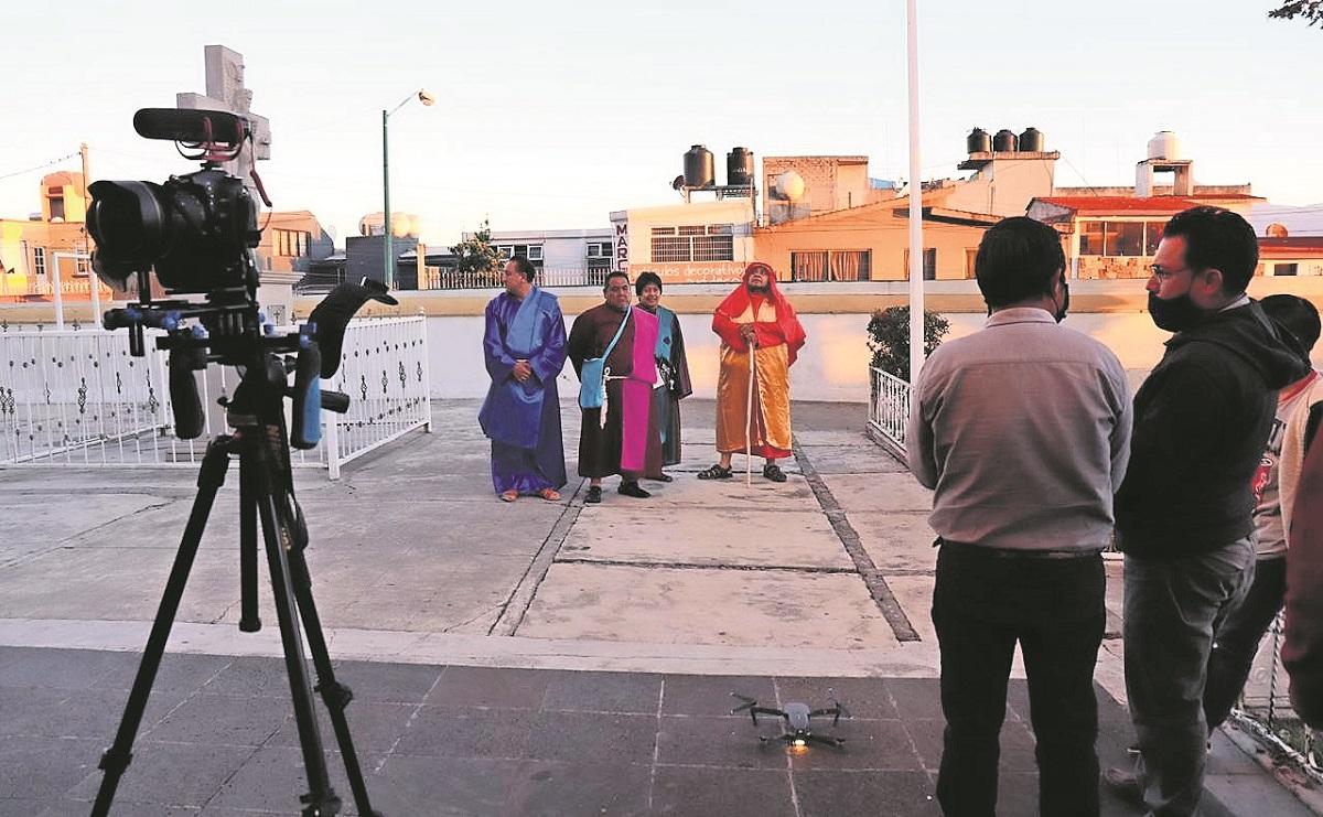 Vecinos de San Mateo Oxtotitlán llevarán la Pasión y Muerte de Jesús a la pantalla grande