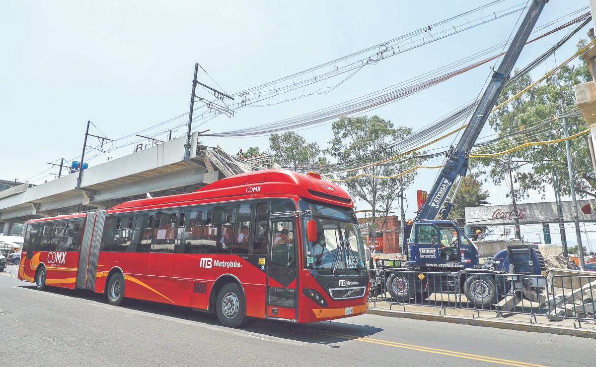 Metrobús operará hasta que se quite trabe de L12 del Metro, afirma Claudia Sheinbaum