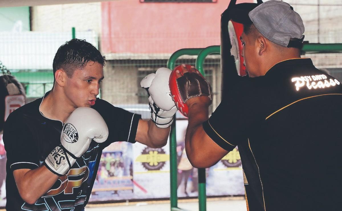 """El boxeador """"Rey"""" Picasso espera regresar al ring en junio o julio"""