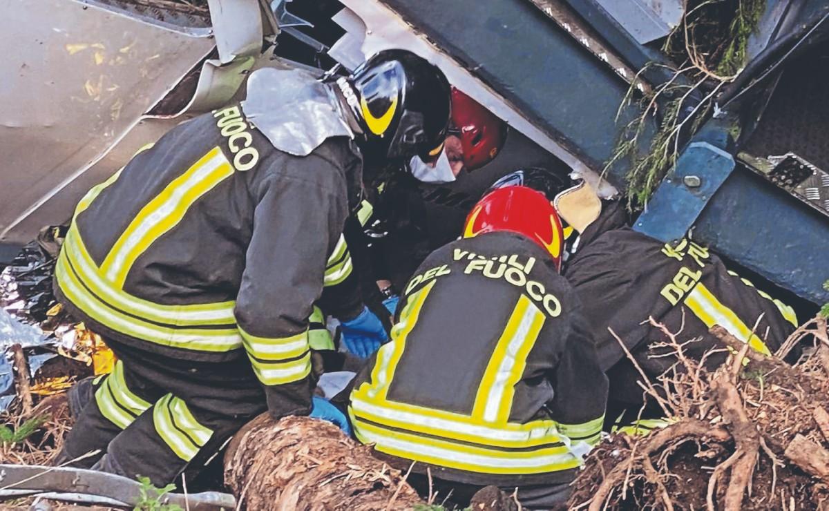 Sube a 14 el número de fallecidos por el desplome de la cabina de un teleférico, en Italia