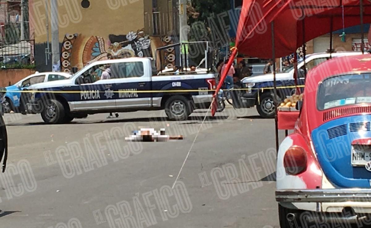 Asesinan a hombre en Chalco cuando apenas empezaba su martes