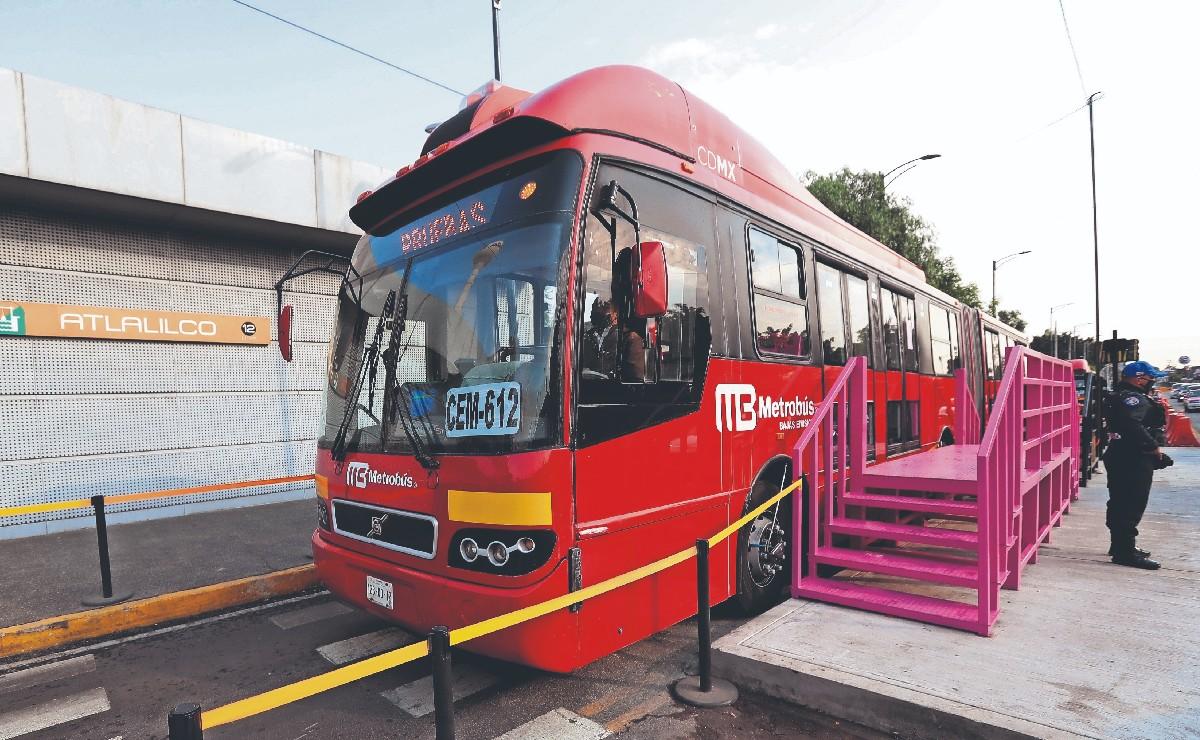 Metrobús inicia mañana pruebas con pasajeros en tramo Atlalilco-Tláhuac, tras colapso de L12