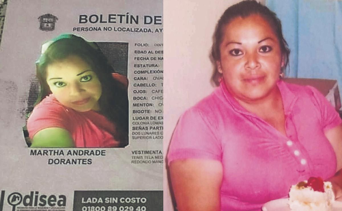 Buscan a Martha desde 2017, feminicida de Atizapán le regalaba despensas y le dio trabajo