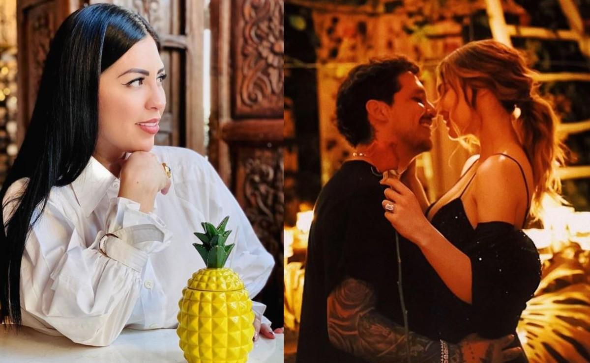 Mamá de Christian Nodal rompe el silencio tras revelarse planes de boda con Belinda