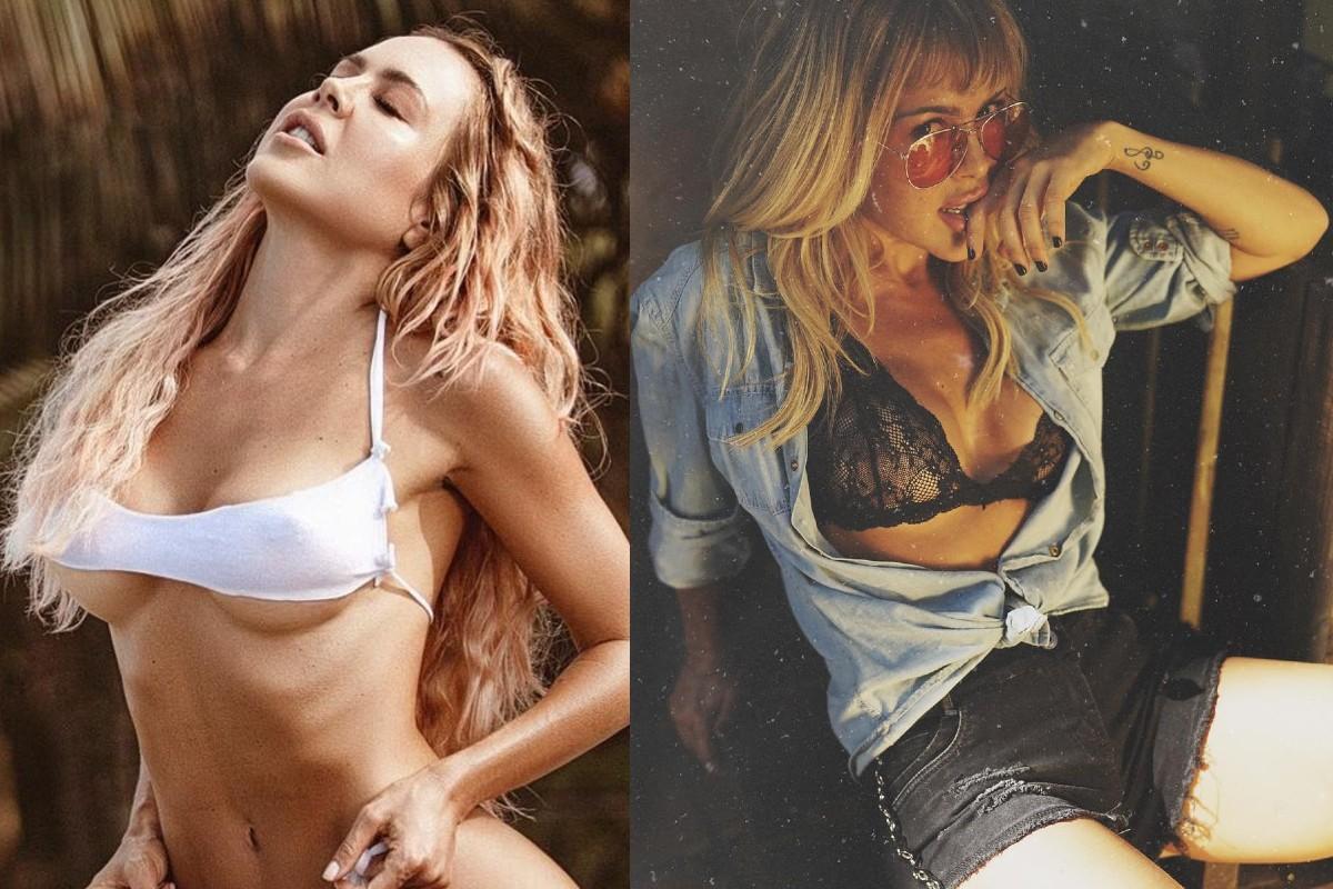 Sexy modelo colombiana se quita toda la ropa y lanza poderoso mensaje sobre la vejez