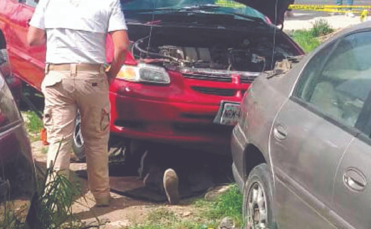 Mecánico mexiquense muere al ser aplastado por la camioneta que reparaba
