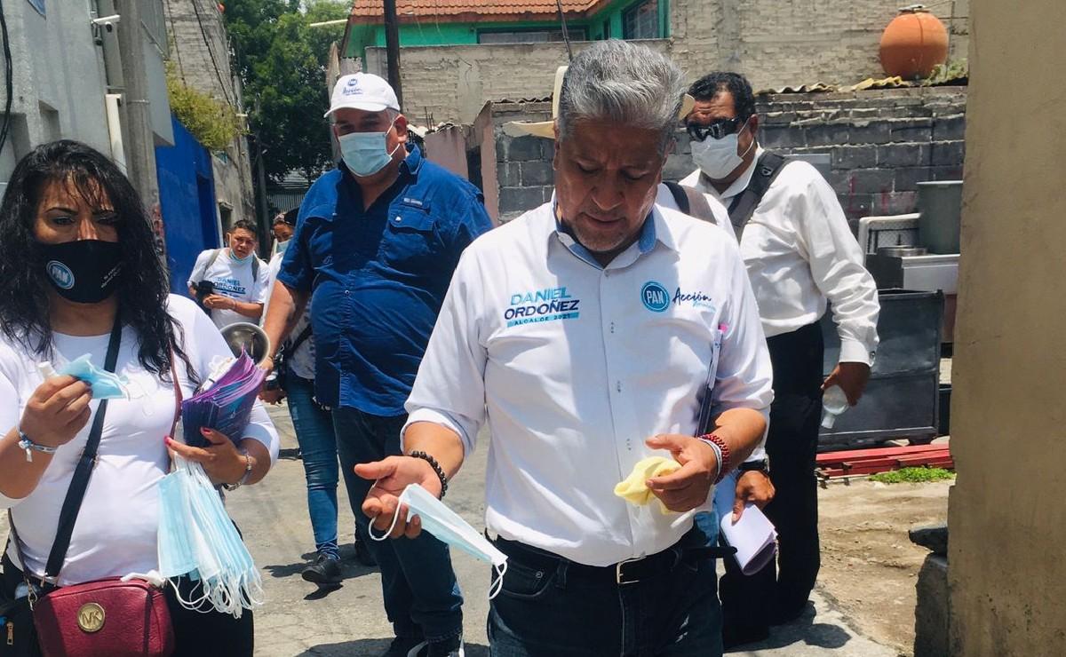 Se pronuncia Ordóñez contra la corrupción y abstencionismo en Iztacalco