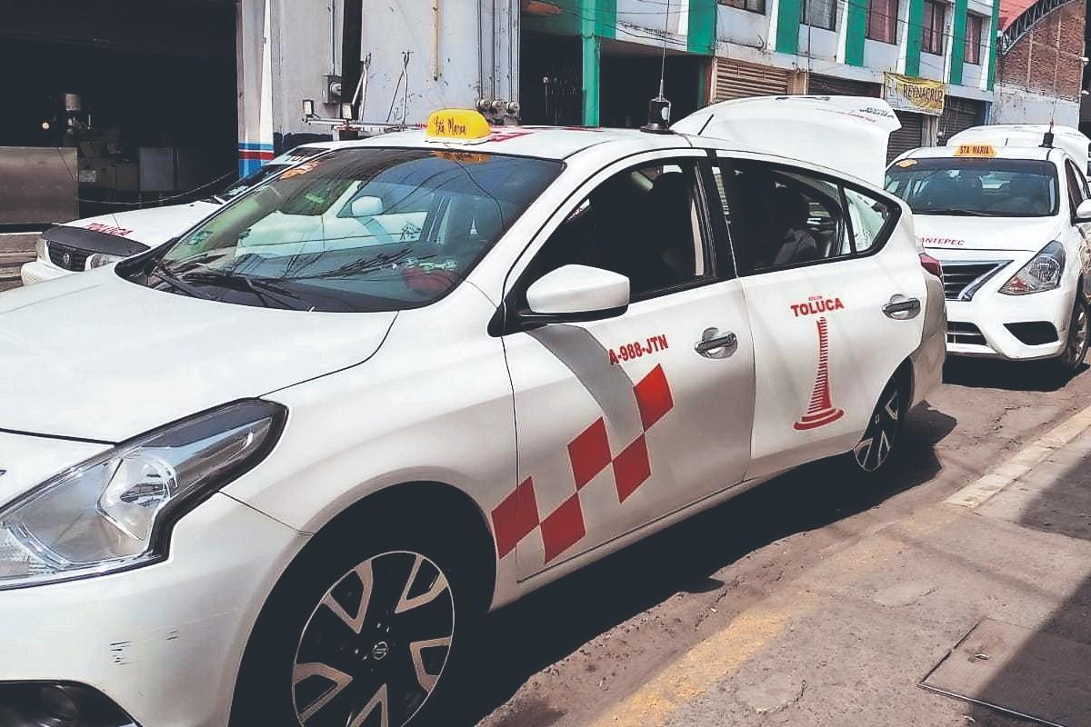 Taxistas en Toluca denuncian incremento de asaltos en su contra, durante la pandemia