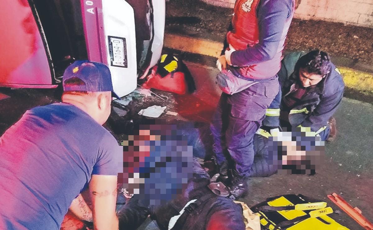 Muere policía en Chalco cuando iba a toda velocidad a su trabajo