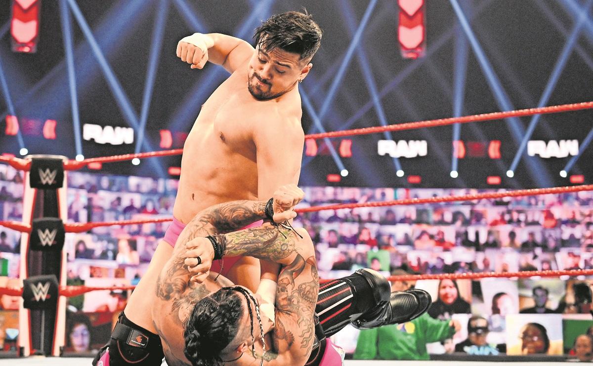 Ángel Garza se disciplinó y está de vuelta en el ring de la WWE