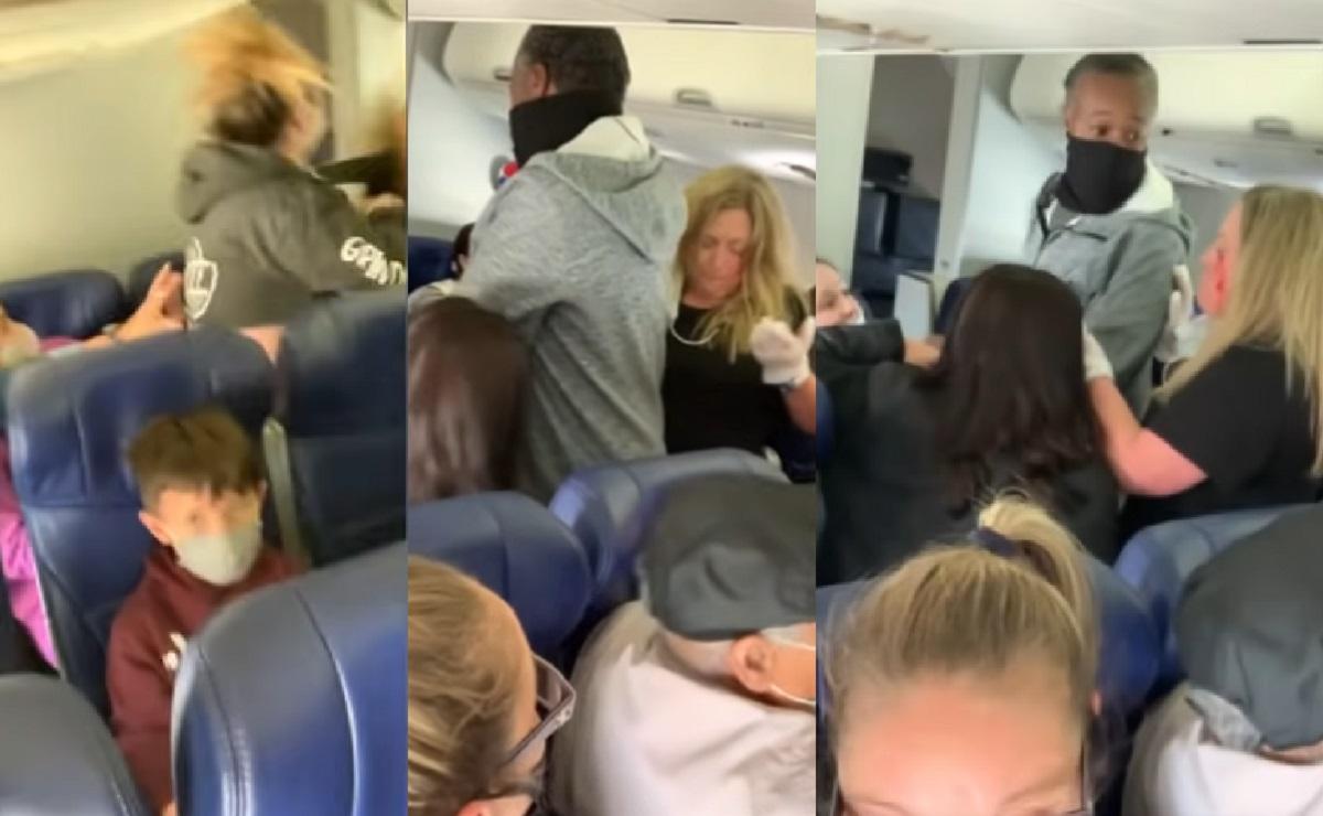 Azafata termina sin dientes tras ser golpeada por pasajera en Estados Unidos