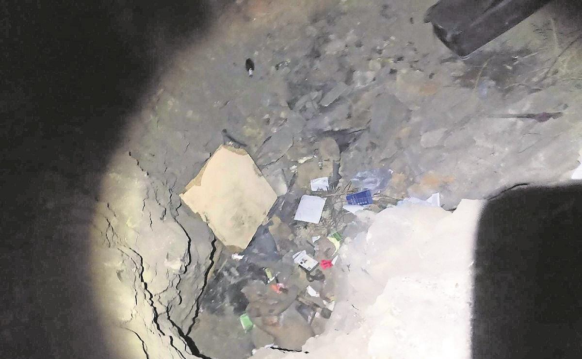 Hallan cuerpo de mujer en cueva del Edomex, podría ser Atziry Mirella