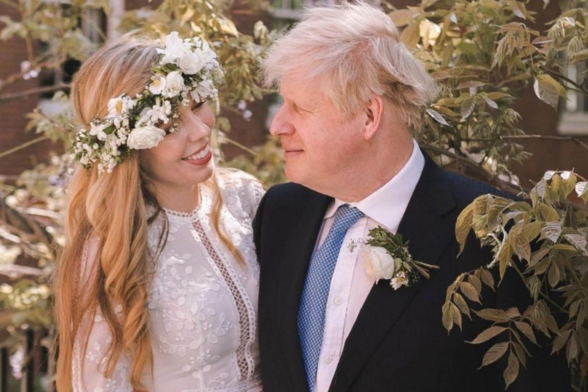 Boris Johnson, primer ministro de Reino Unido se casa con Carrie Symonds en boda privada