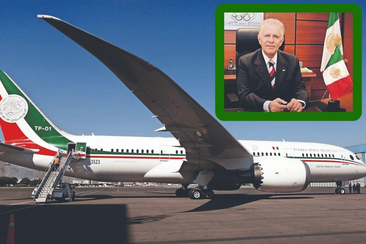 Comité Olímpico Mexicano rechaza aventón en avión presidencial y esta es la razón