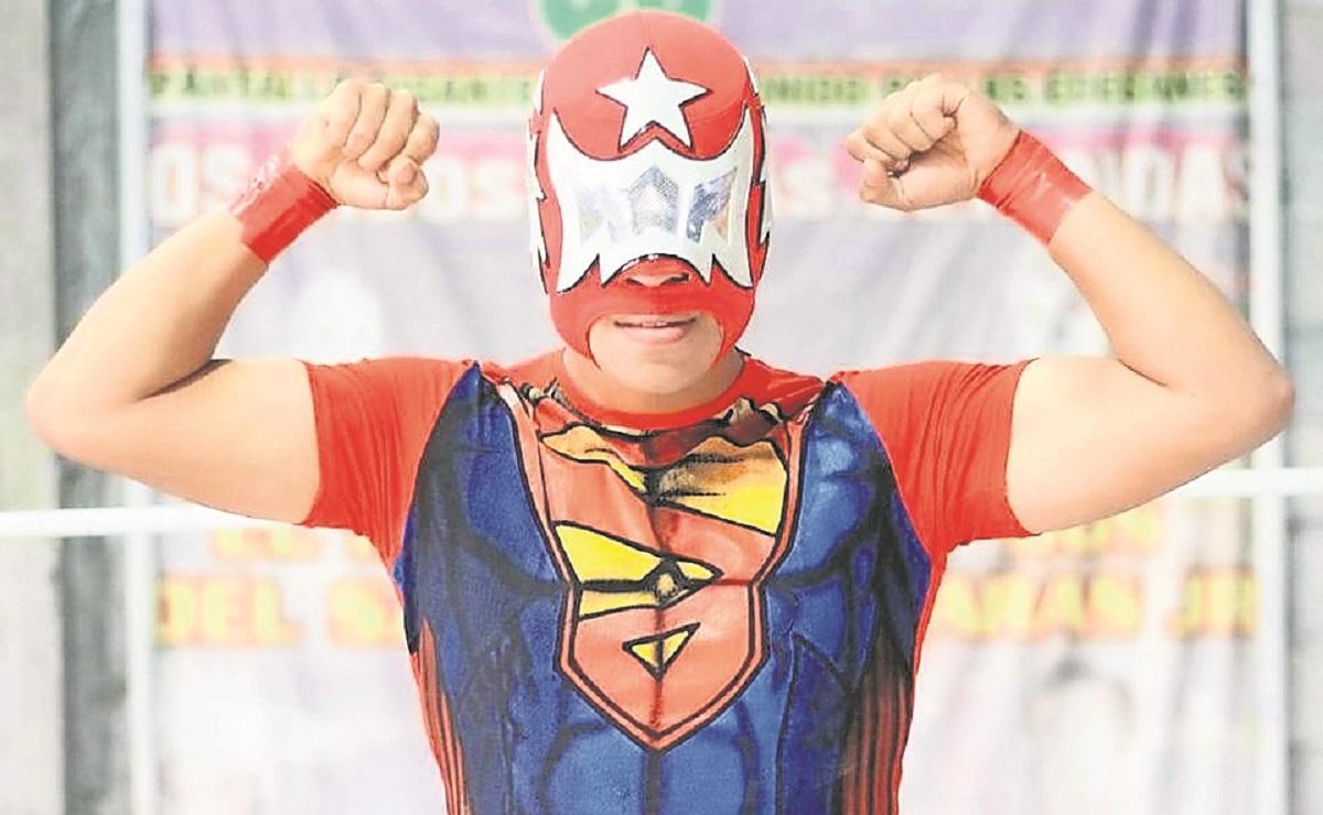 Astro Boy Jr. sigue los pasos de su padre, busca ser un grande del pancracio en Morelos