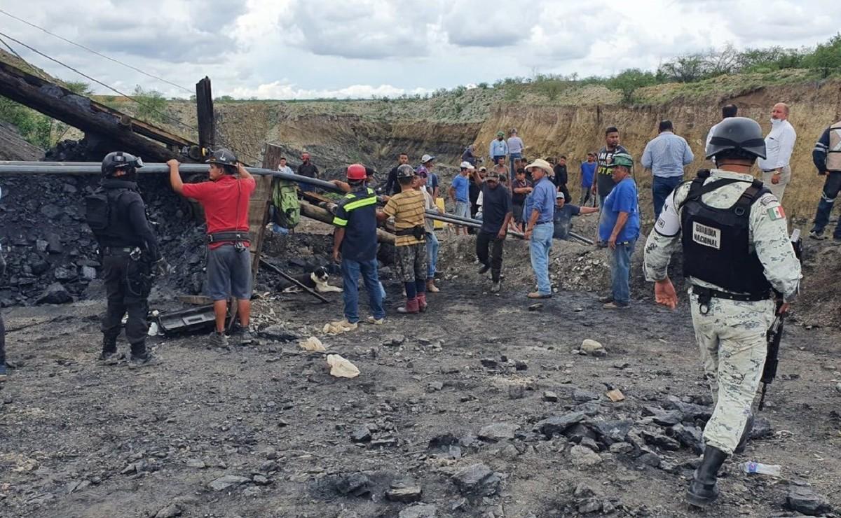 Colapsa mina en Múzquiz, Coahuila y reportan al menos 7 trabajadores atrapados