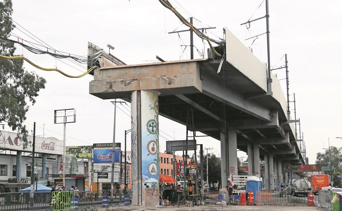 Autoridades garantizan transparencia en información sobre Línea 12 del Metro, en CDMX