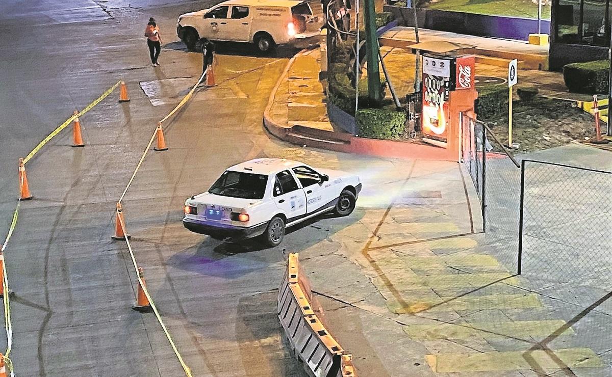 Más de 8 disparos recibio un taxista en Jiutepec, su estado de salud se reporta como grave