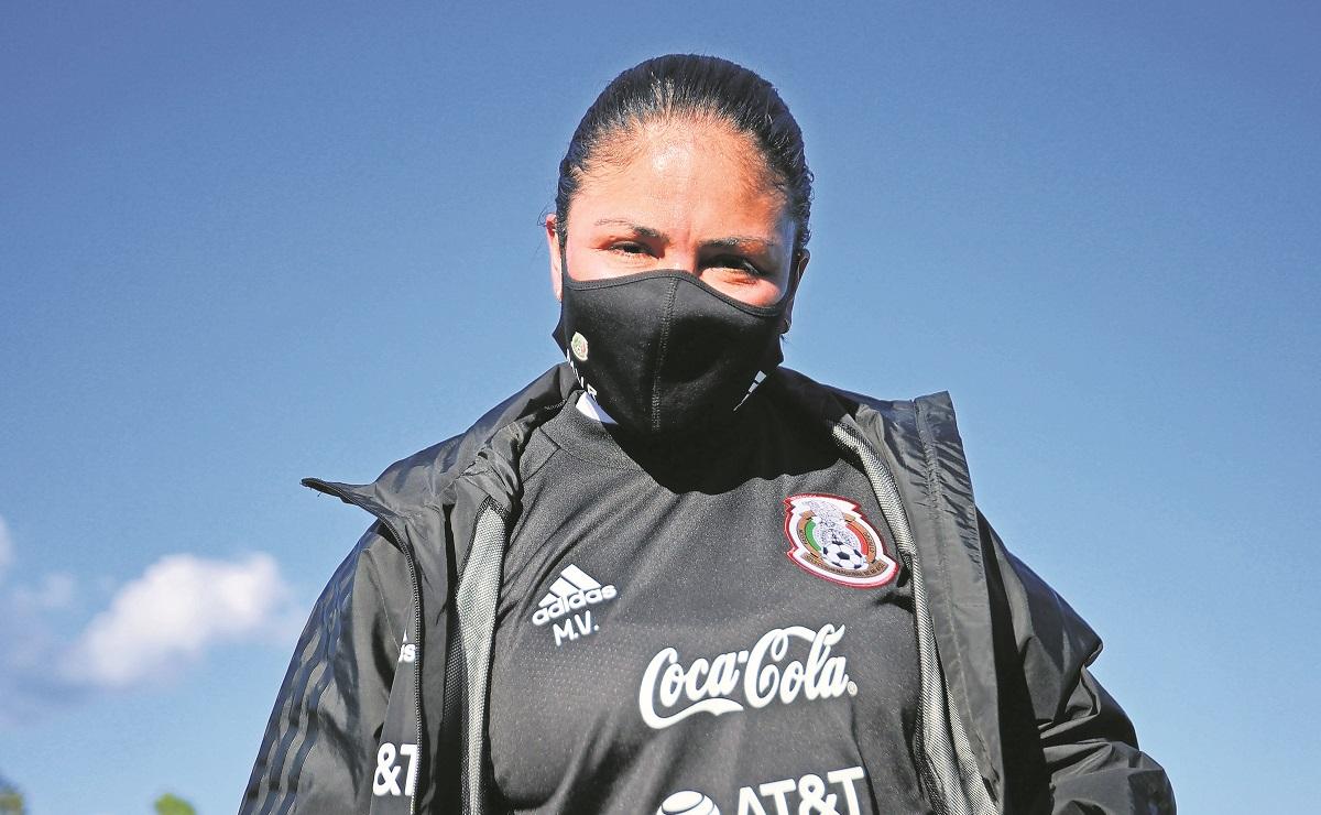 Mónica Vergara  aplaude inclusión de extranjeras en la Liga MX femenil