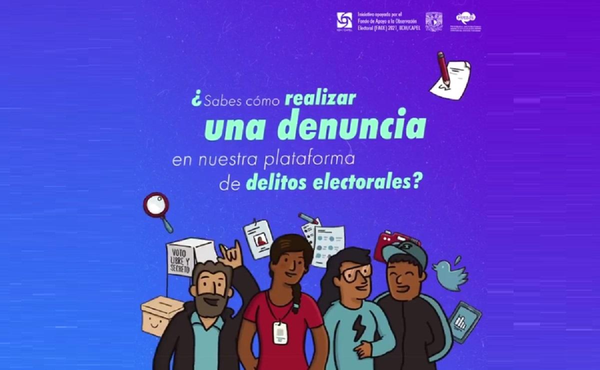 UNAM crea plataforma para denunciar irregularidades y delitos electorales