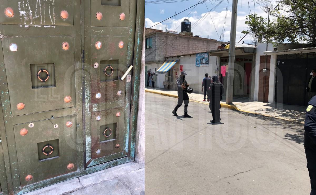 Balean a familia en Amecameca incluida una niña, los acusan de comprar votos para Morena
