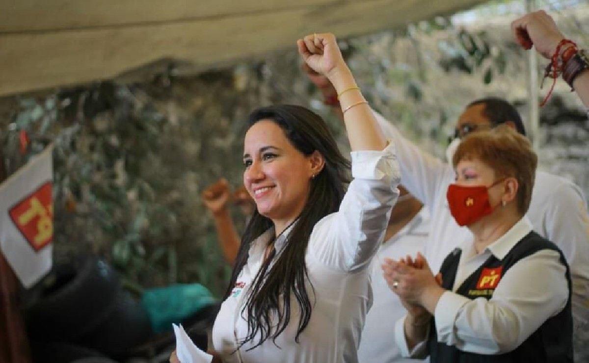 Michelle Núñez Ponce de Morena celebra triunfo en Valle de Bravo