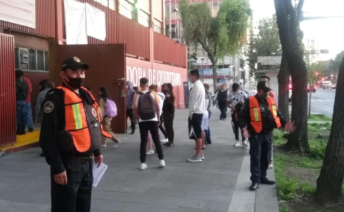 ¡Por fin! Este lunes volvieron a clases presenciales los niños en la Ciudad de México