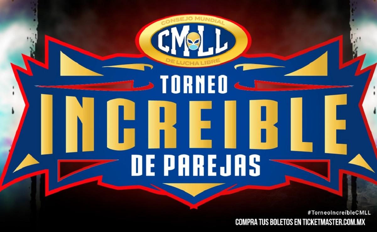 Anuncia el CMLL, la primera fase del torneo increíble de parejas