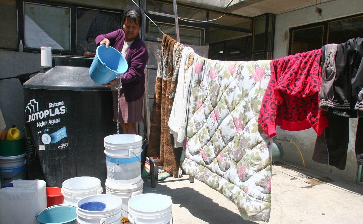 Anuncian recorte de agua este fin de semana en la CDMX y el Edomex