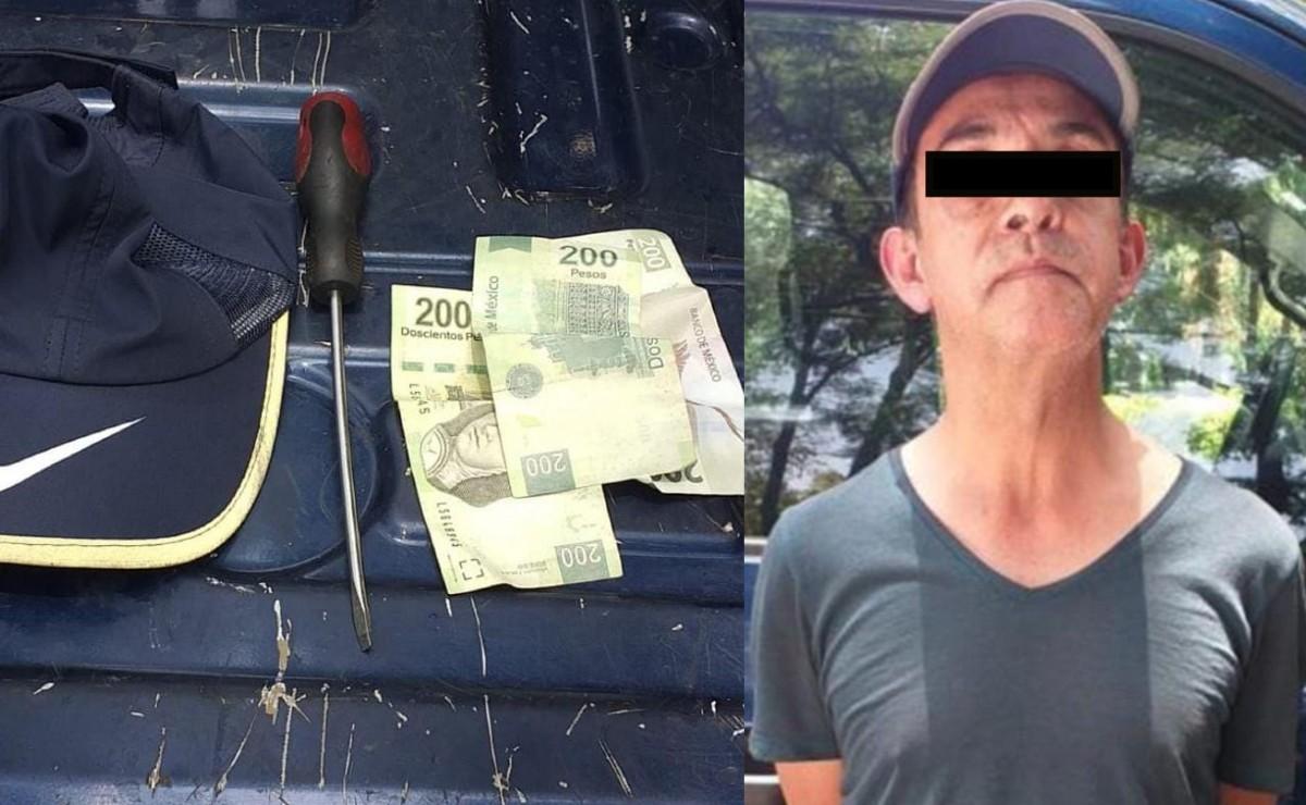 Atoran a taxista de la tercera edad, tras asaltar con desarmador a mujer en CDMX