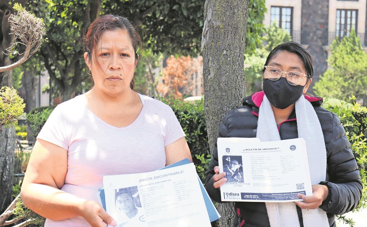 Familiares de dos gaseros 'levantados' en San Cristóbal claman por justicia en Edomex