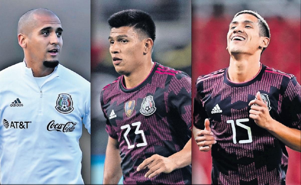 Hay jugadores que parece no tienen cabida en la Selección Mexicana de Gerardo Martino