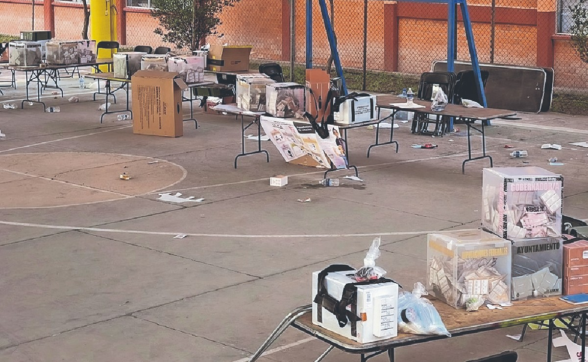 Municipio en Edomex se queda sin resultados de elecciones tras ataques y esto podría pasar