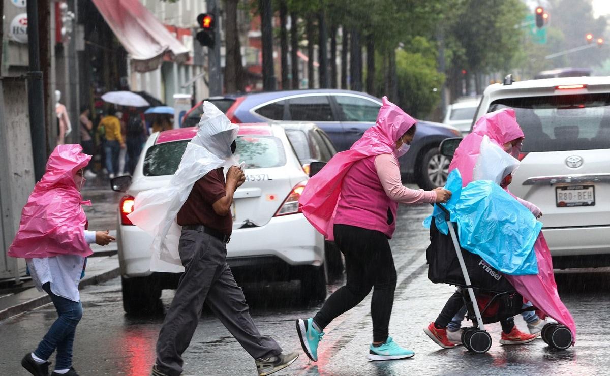 Pronostican temporal de lluvias de 15 días en la Ciudad de México