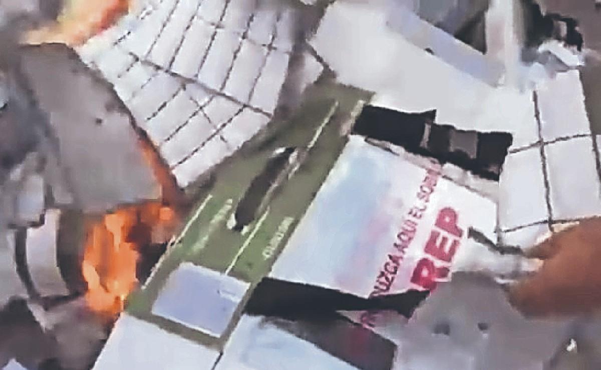 Queman boletas electorales que le dieron triunfo a candidato del PES en Tepalcingo, Morelos