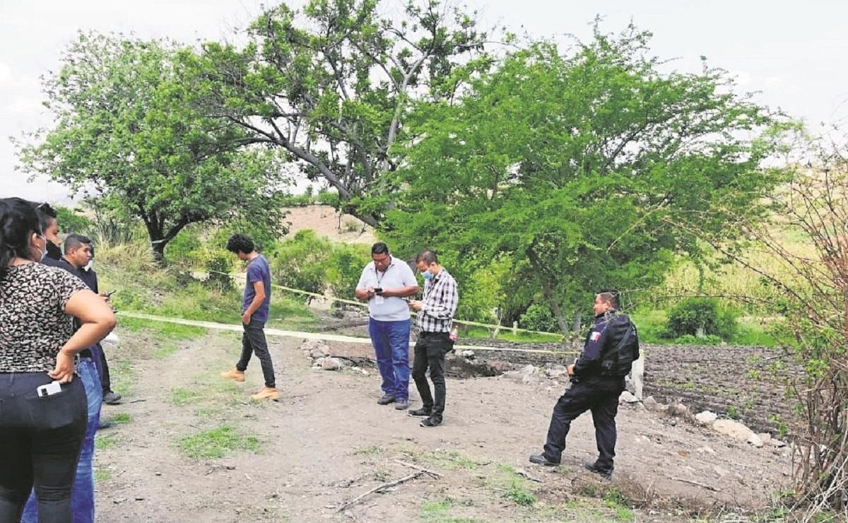 Encuentran cadáver en parcela de maíz en el municipio de Ayala, en Morelos