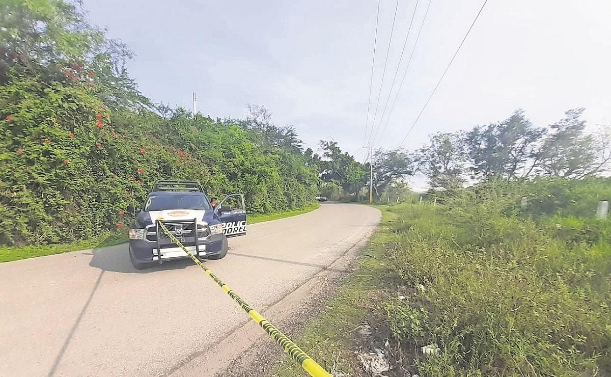 Hallan a cadáver maniatado y con disparos en la cabeza cerca de un balneario en Morelos