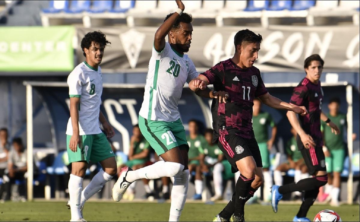 Arabia Saudita empata de último minuto a la Selección Mexicana Olímpica