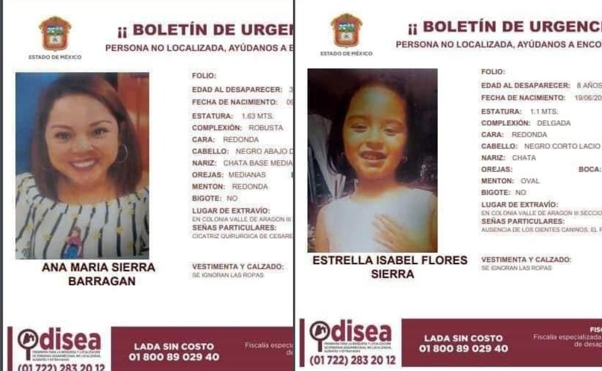 Desaparecen joven maestra y su hija menor de edad en Ecatepec, sospechan de pretendiente