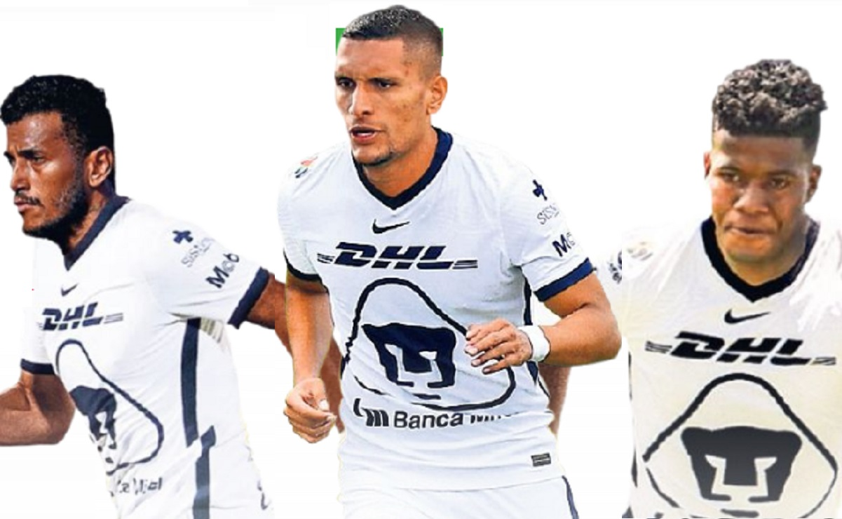 Higor Meritão, Rogério y Washington Corozo ingresan a Pumas, estas fueron sus reacciones