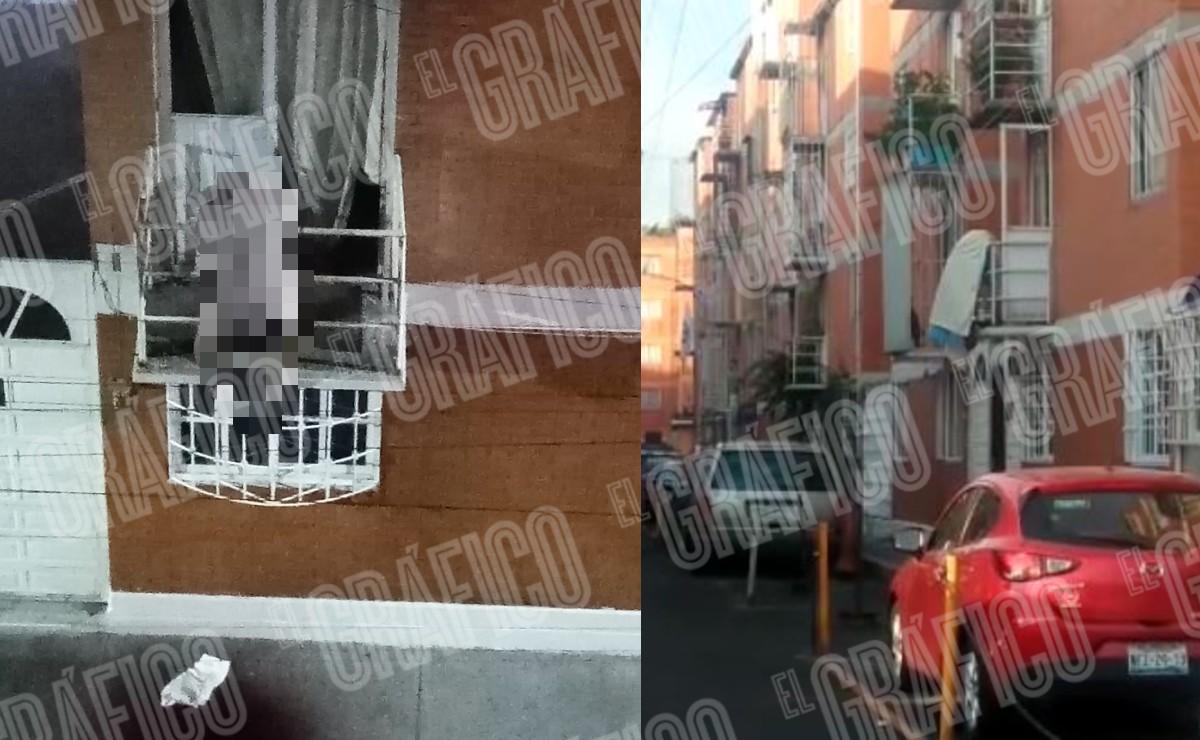 (VIDEO) Mata a su esposa y a su hija menor de edad y luego se dispara en el balcón, CDMX