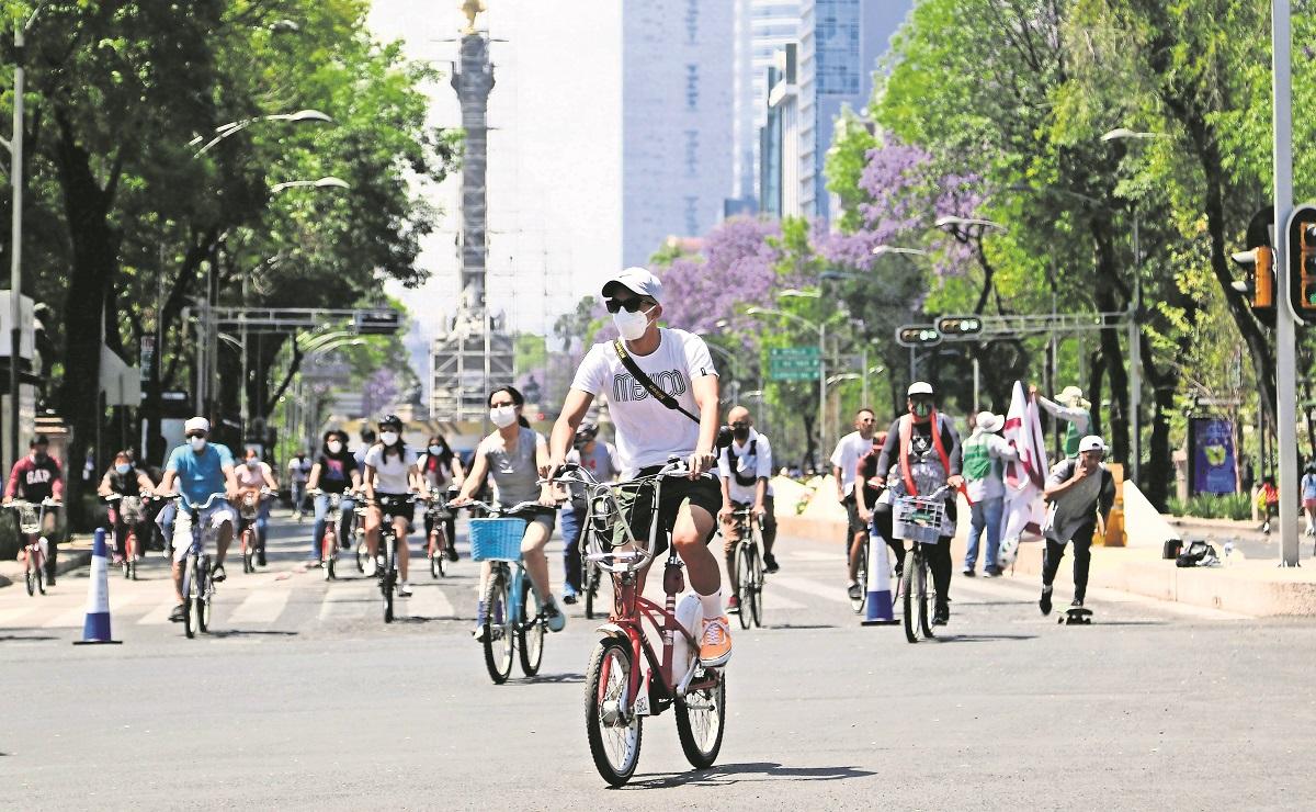 """Ampliarán a 50 kilómetros paseo ciclista """"Muévete en Bici"""" en CDMX, conectará 4 alcaldías"""