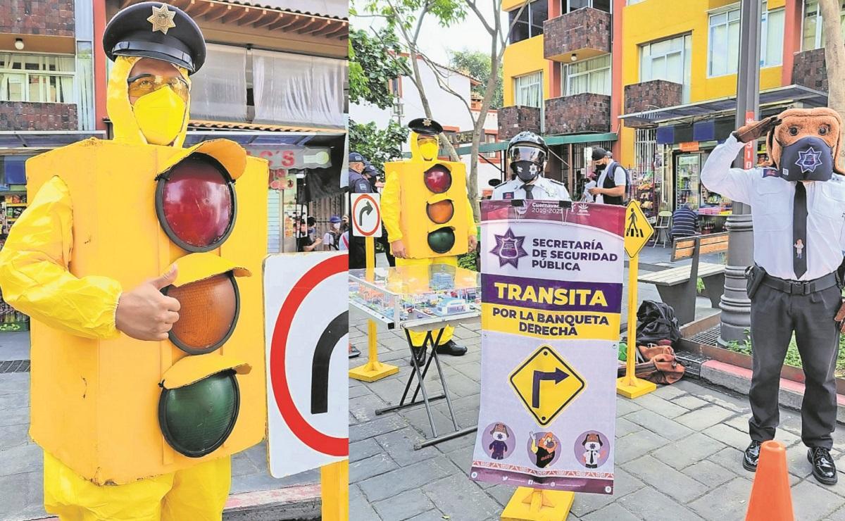 Autoridades implementan programa para promover educación vial en Morelos