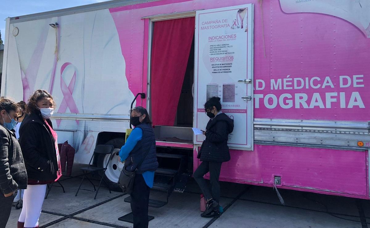 Realiza IMSS jornadas de mastografías para detectar cáncer de mama en el Edomex