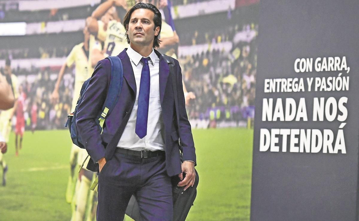 Santiago Solari, director técnico de Club América revela deseos de irse a Europa