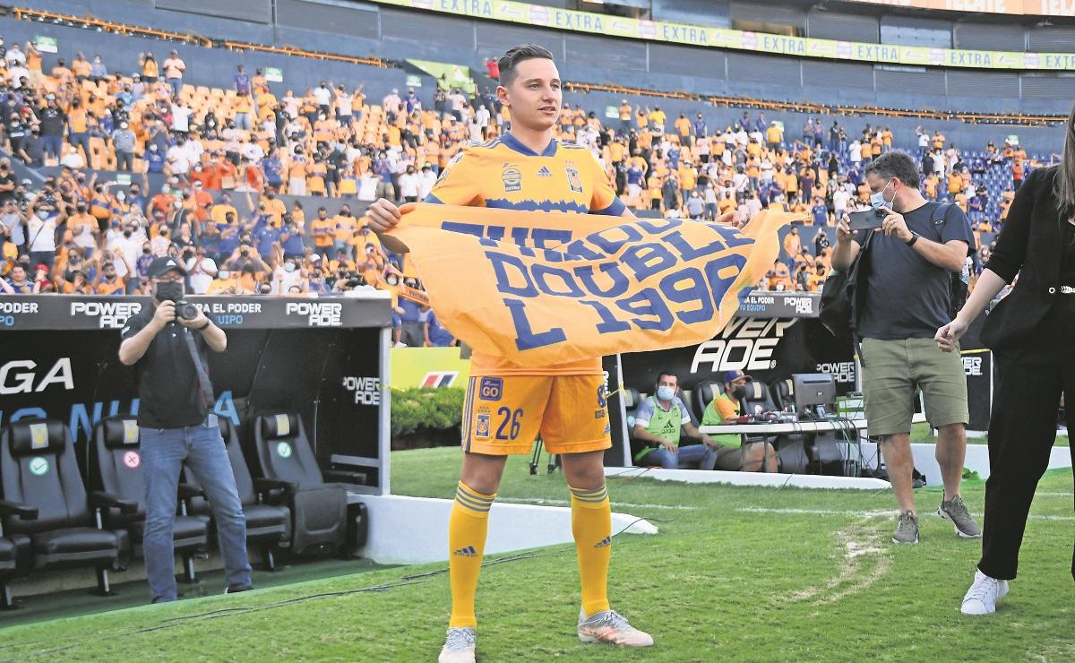 Así fue la presentación de Florian Thauvin como nuevo jugador de Tigres