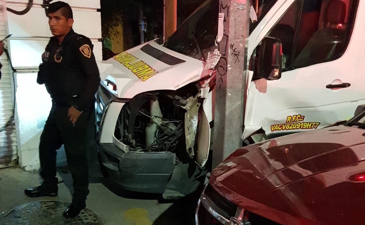 Tras choque, riña entre paramédicos y civiles deja 3 lesionados en la Cuauhtémoc