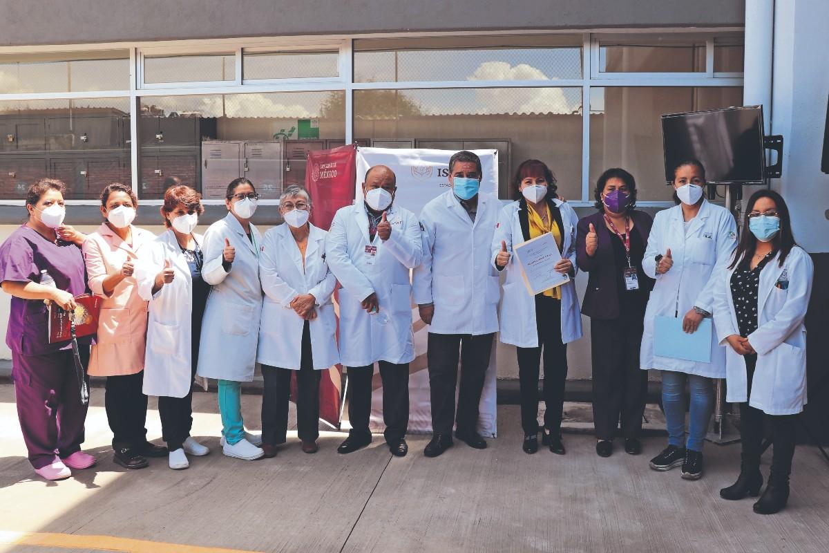 Así encara al Covid la jefa del laboratorio del Hospital General ISSSTE de Toluca